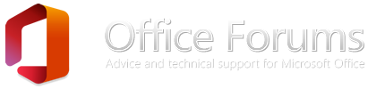 Microsoft Office Forums